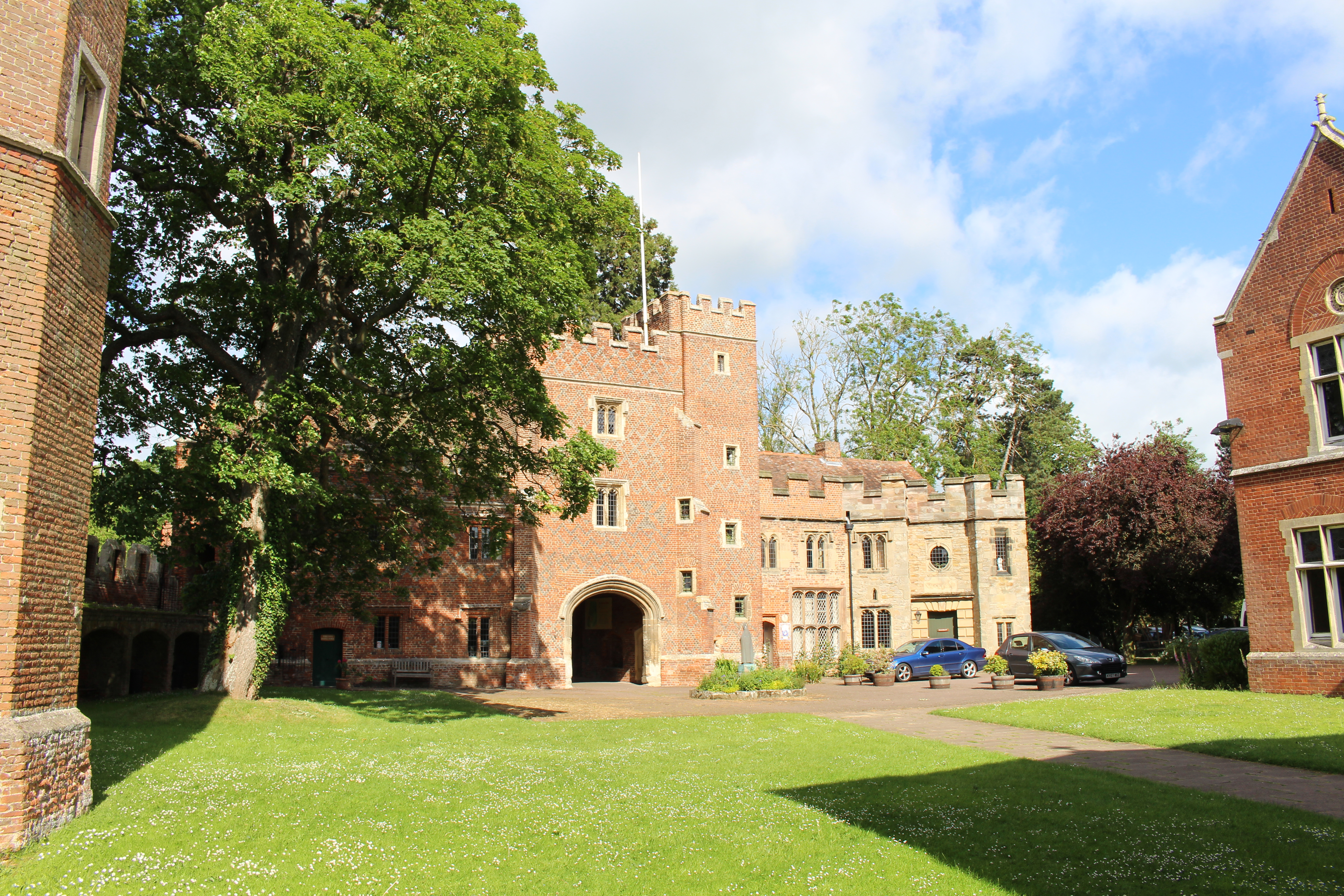 The Gatehouse from the inner courtyard of Buckden Palace