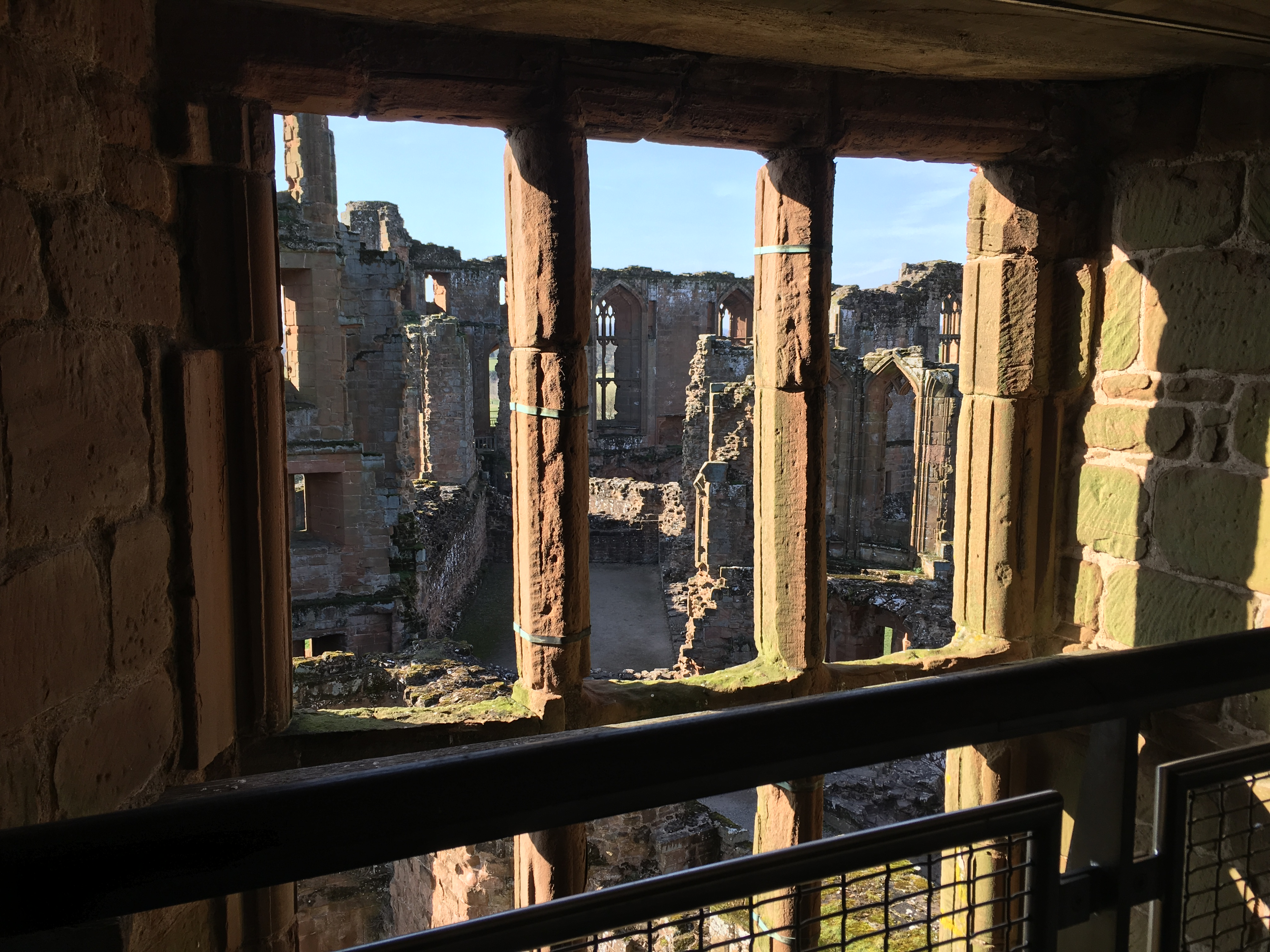 A View from Leicester's Tower at Kenilworth Castle