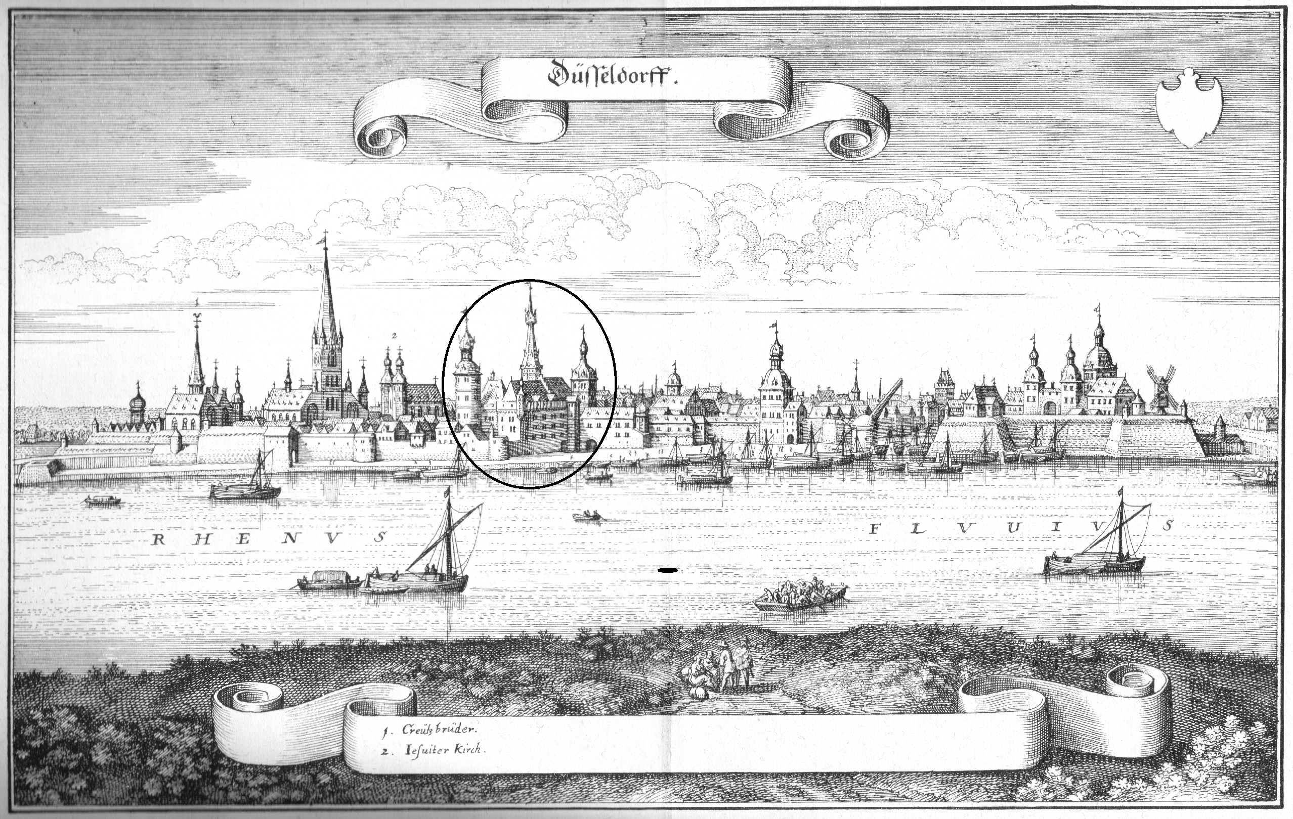 Dusseldorf, birthplace of Anne of Cleves