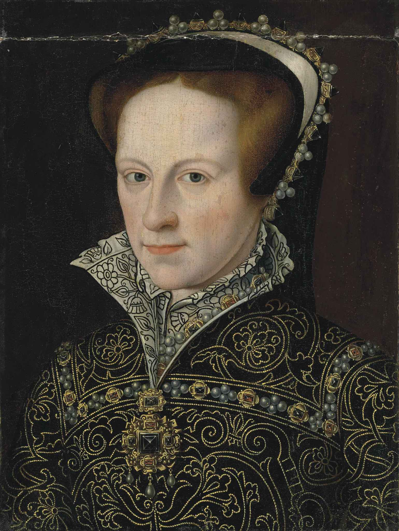 Portrait of Mary I, who lived at Tickenhill House