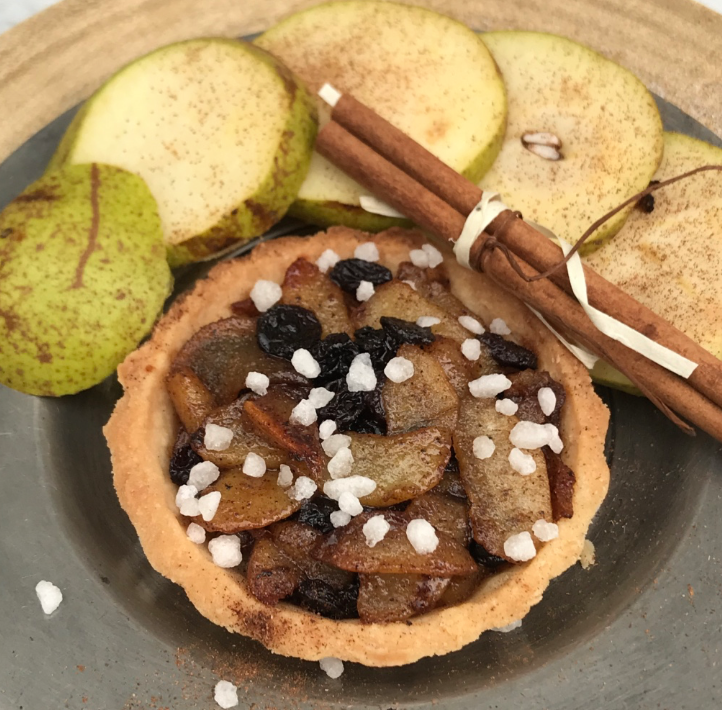 Pear Tart - an Anne of Cleves' inspired recipe