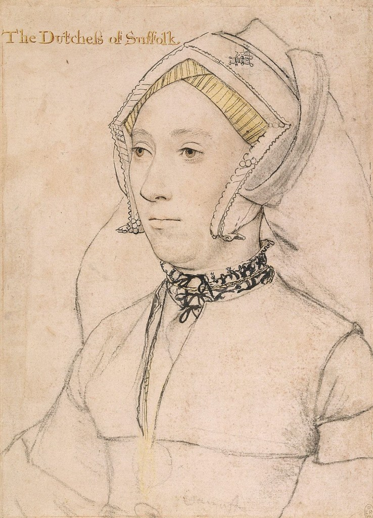 Drawing of the Duchess of Suffolk