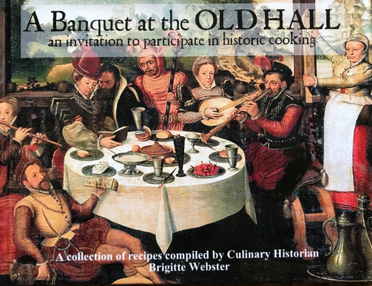 A Banquet at the Old Hall, by Brigitte Webster