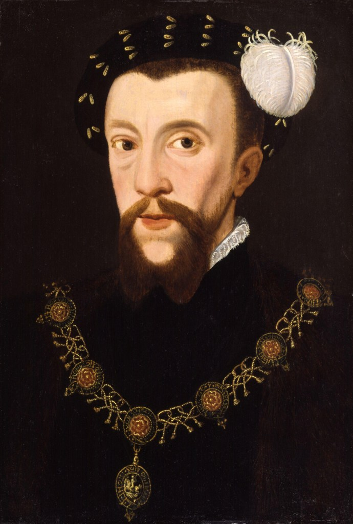 Oil painting of Henry Howard - Mary Howard's brother