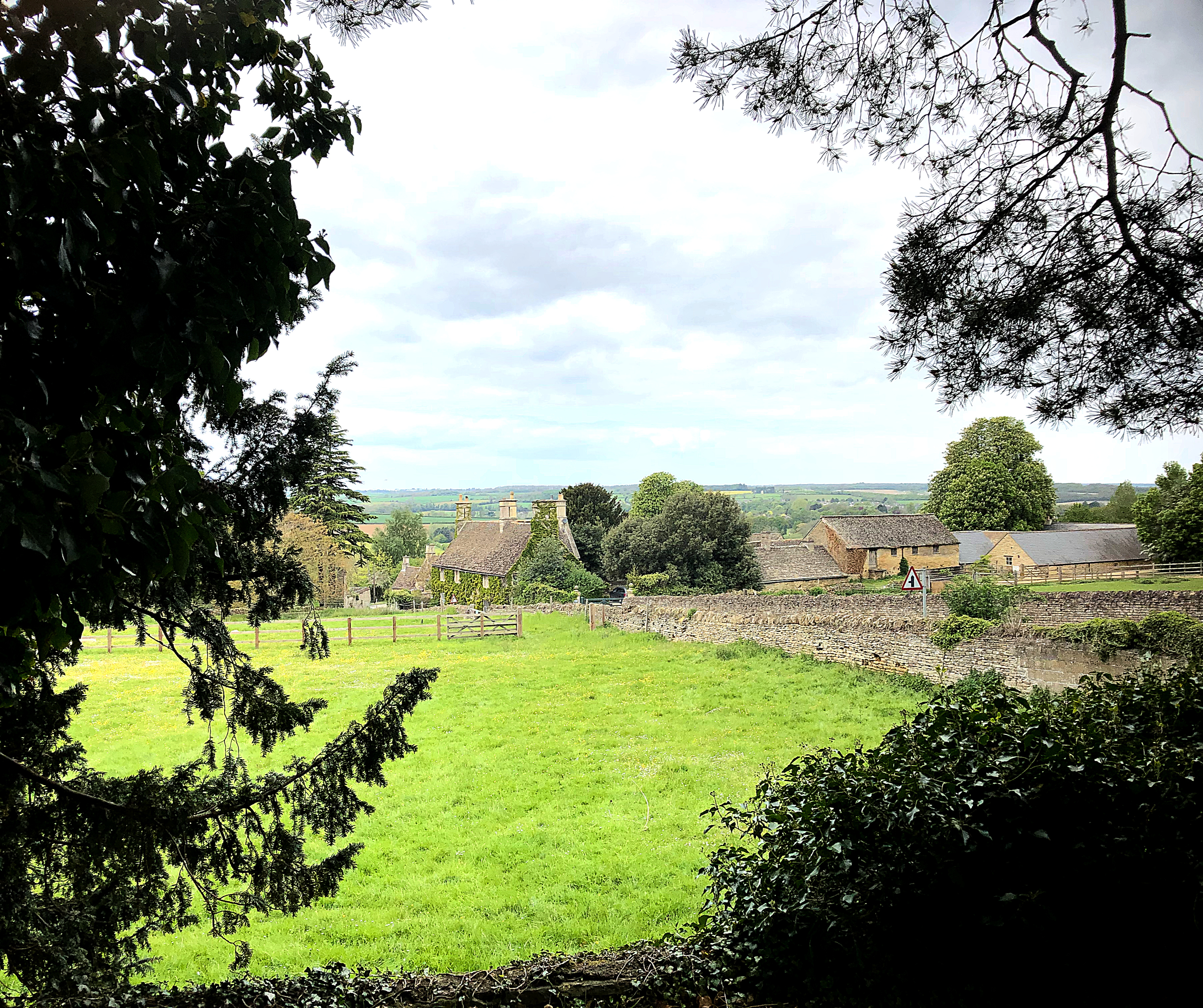 View over the Welland Valley at Collyweston