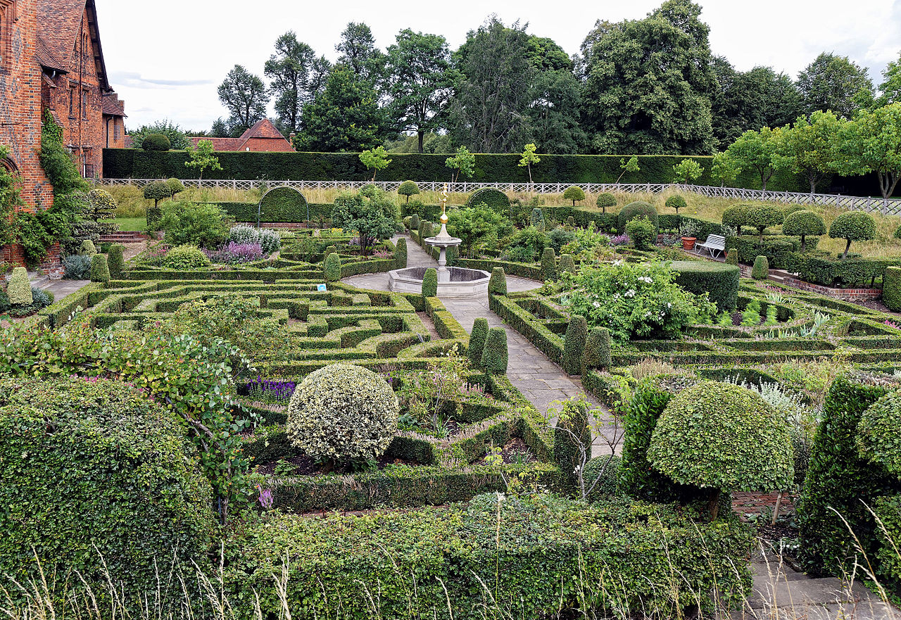 The Old Palace Garden at Hatfield