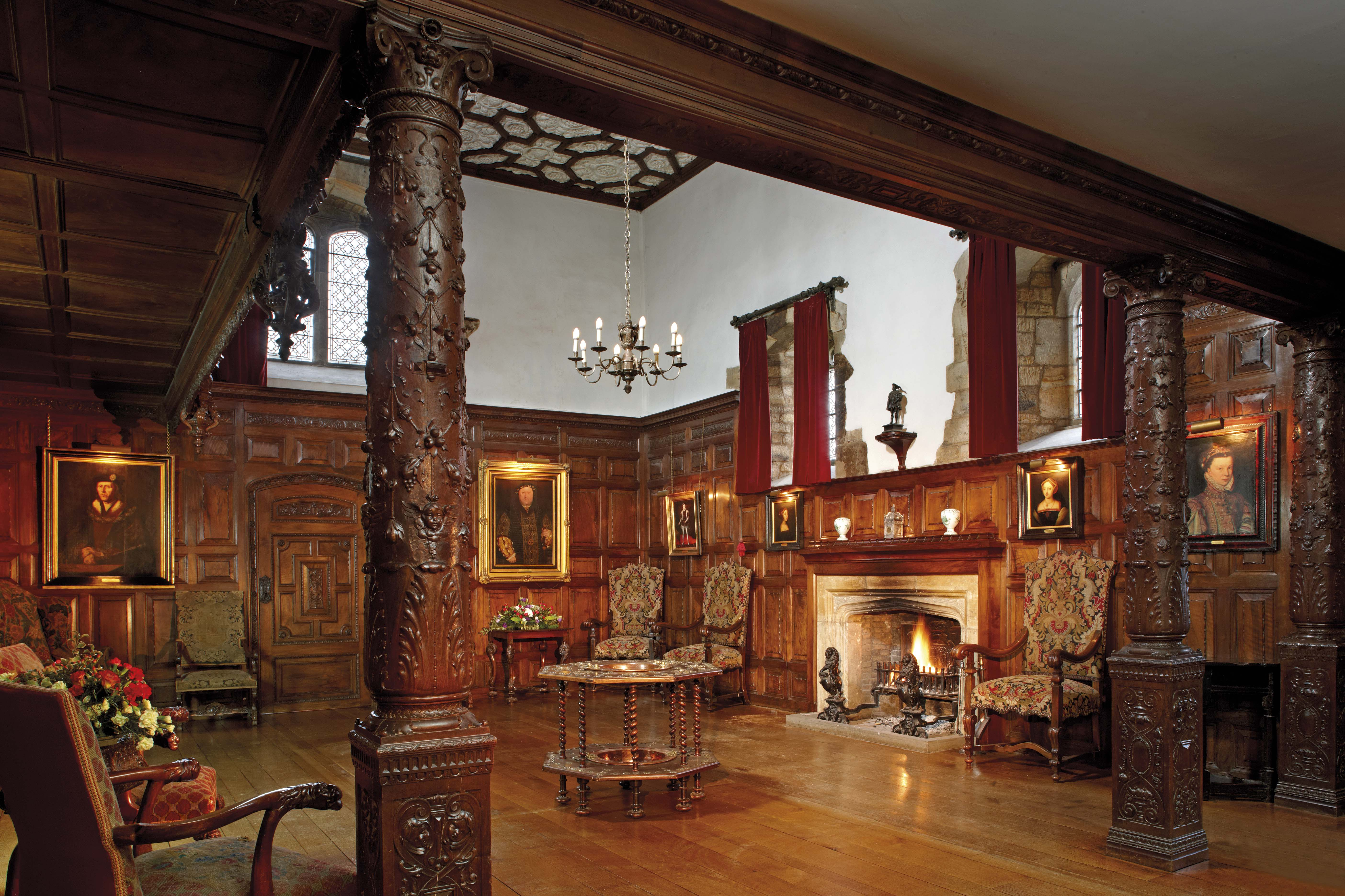The Inner Hall at Hever Castle