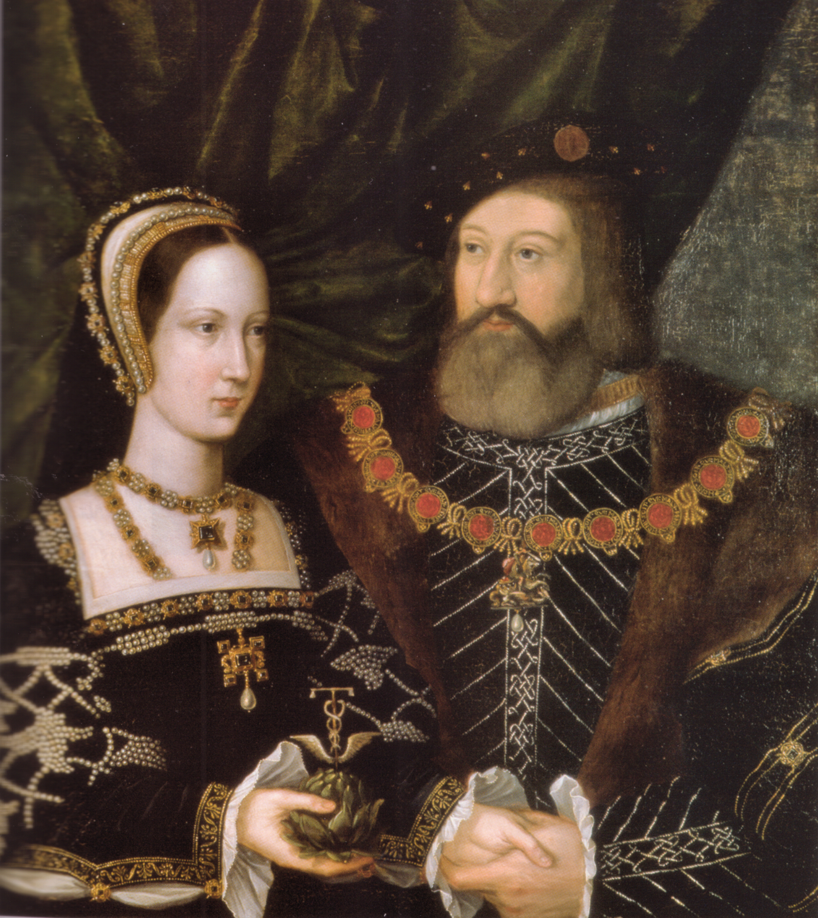 Charles Brandon and Mary Tudor live in Suffolk Place