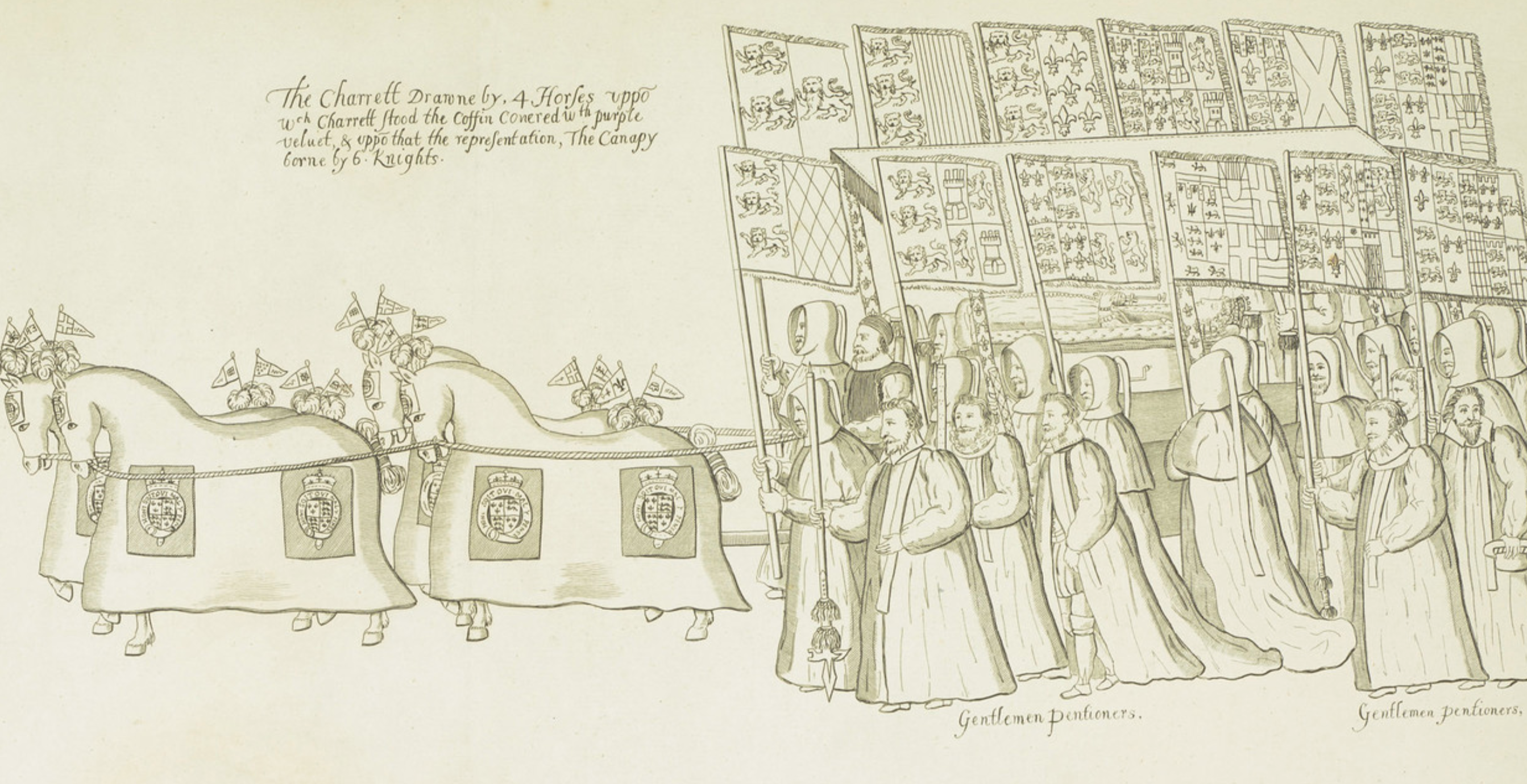 The death, funeral and burial of Elizabeth I