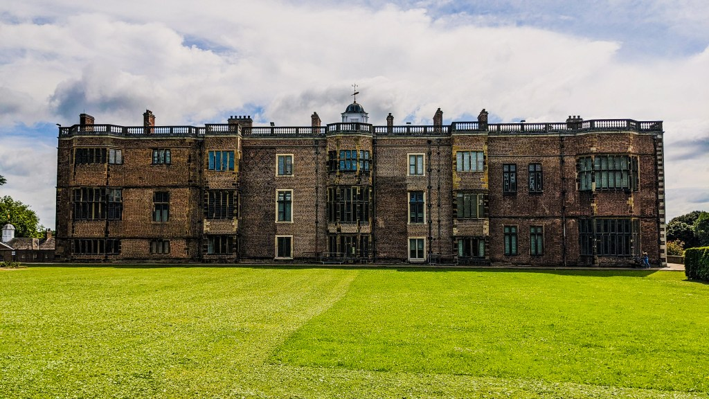 View of Temple Newsam from the west lawn