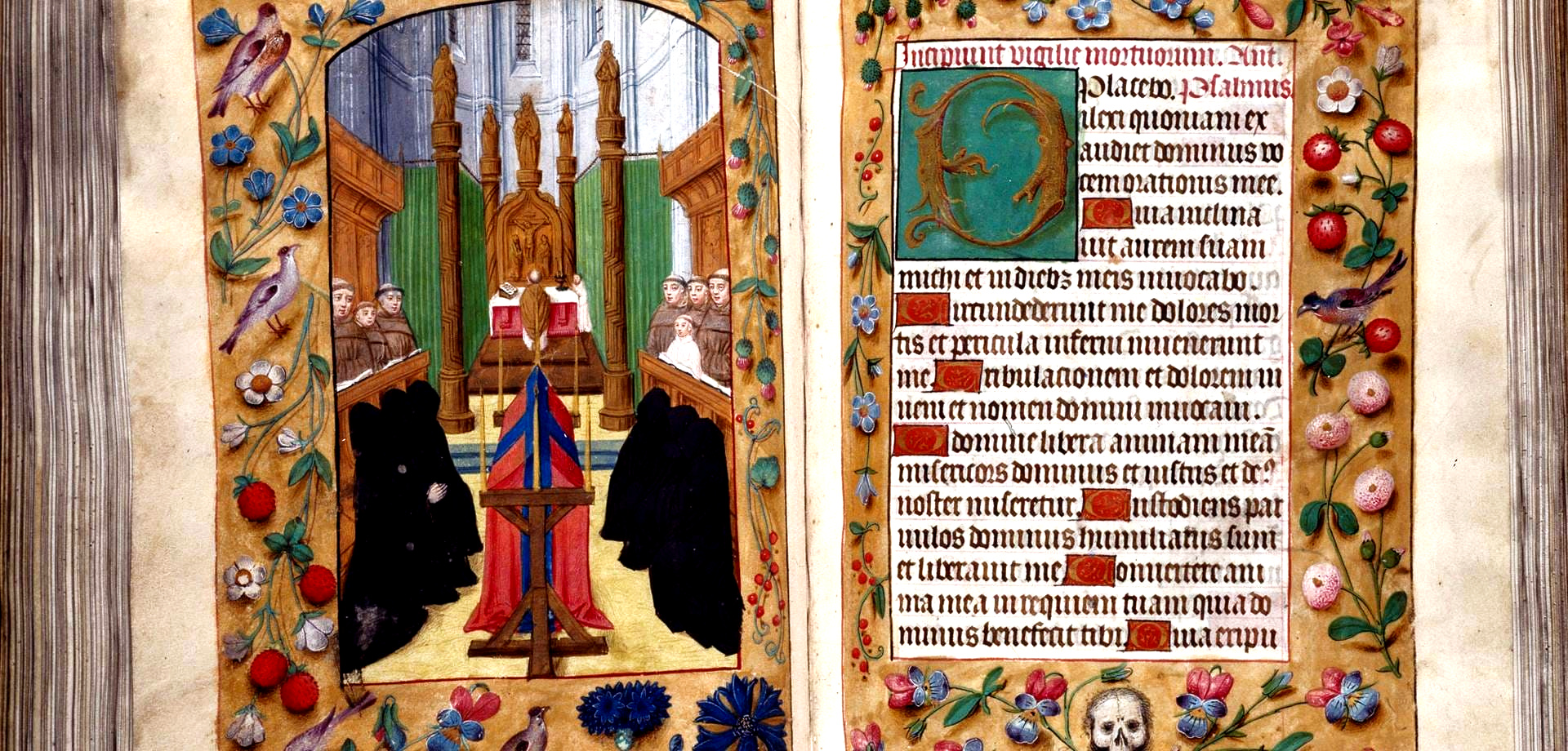 Book of Hours given to Margaret Tudor by her father Henry VIII