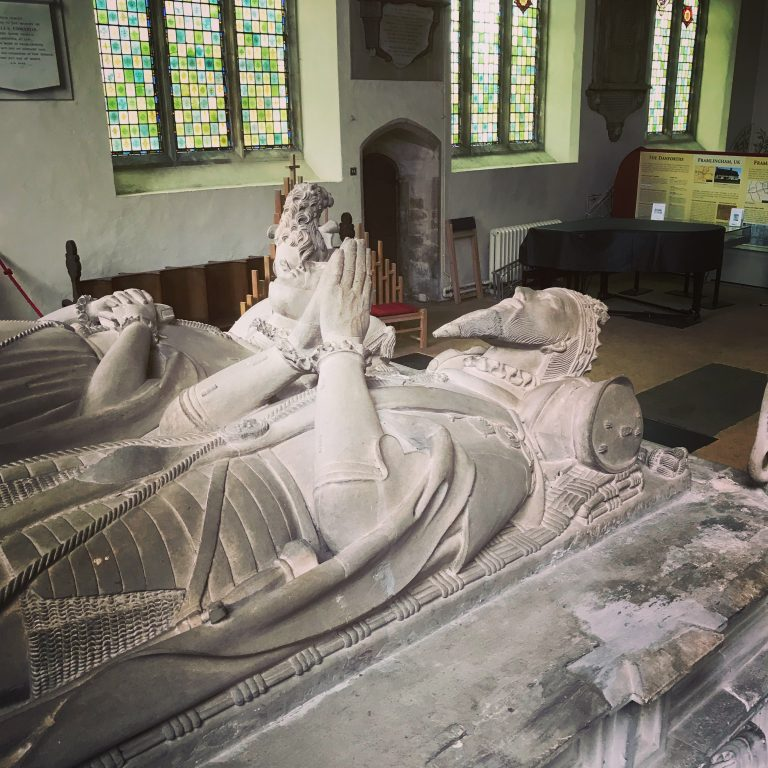 The tomb of Thomas Howard and Anne Howard