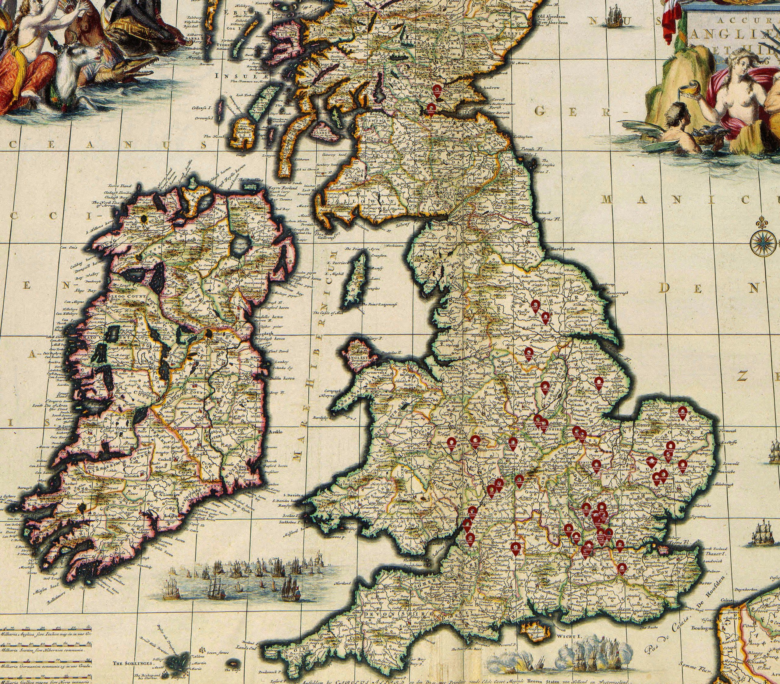 The A-Z of Tudor Places – Searchable Map