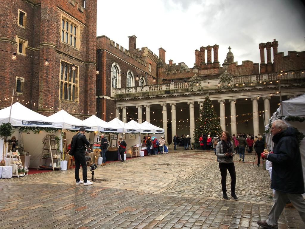 Festive Fayre at Hampton Court Palace